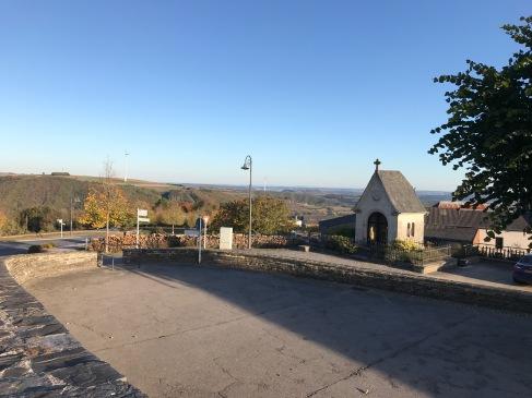村から見下ろす風景