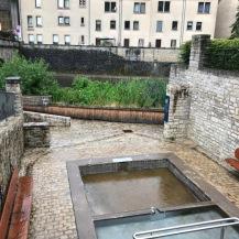 中世からの洗濯場