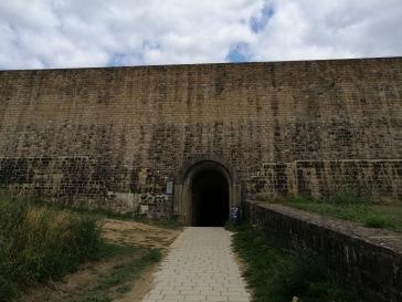 ツェンゲン要塞の入り口